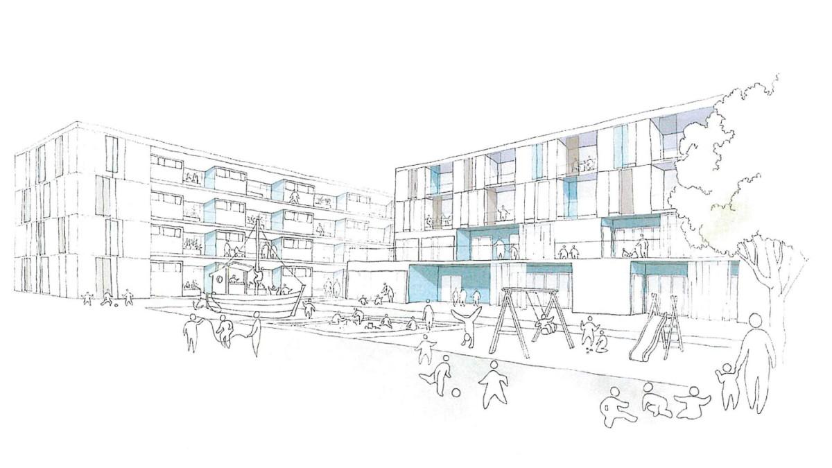 Olching 24 Millionen Fur Den Stadtischen Wohnungsbau