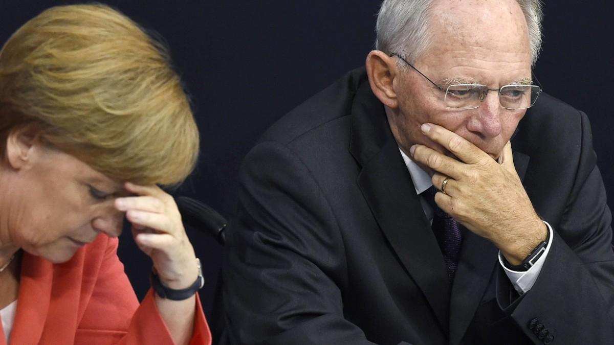 Schäuble-Unterstützung für Merz: Zeichen des Zerfalls