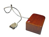 Prototyp der ersten Computermaus