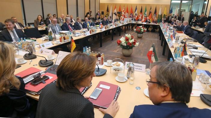Ministerpräsidentenkonferenz 2018 in Berlin