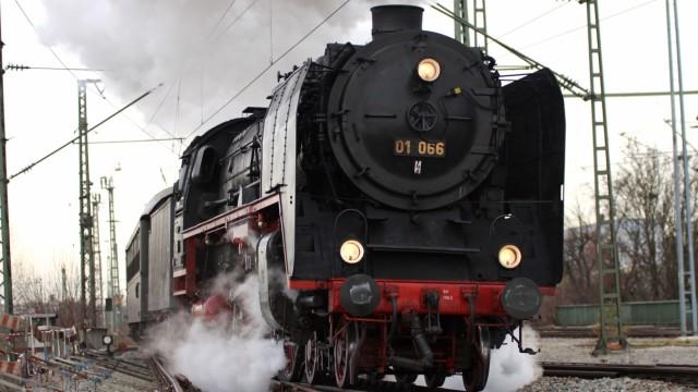Dampflokomotive in München, 2008