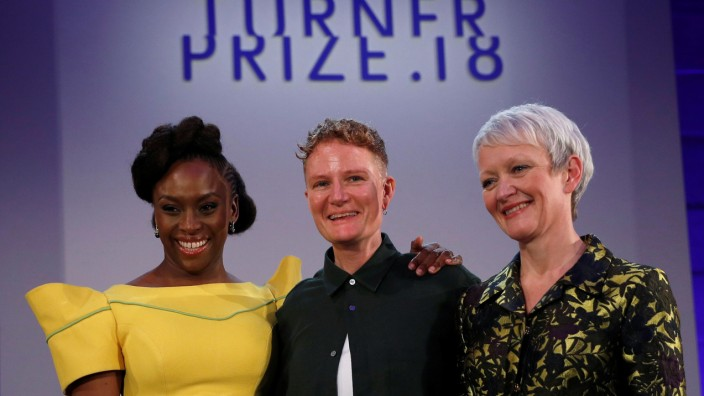 2018 Turner Prize at the Tate Britain in London