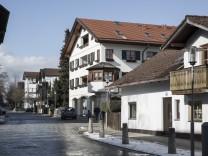 Bahnhofsstraße in Oberhaching, 2018