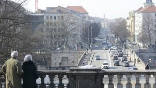 Blick auf Prinzregentenstraße