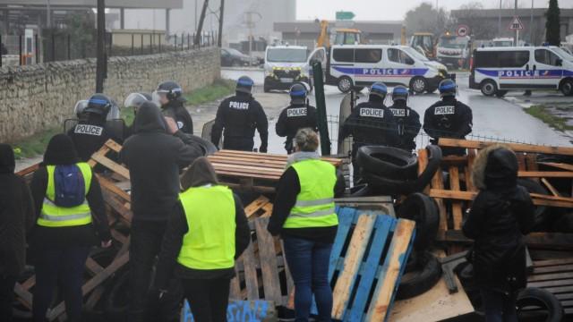 Politik Frankreich Proteste in Frankreich