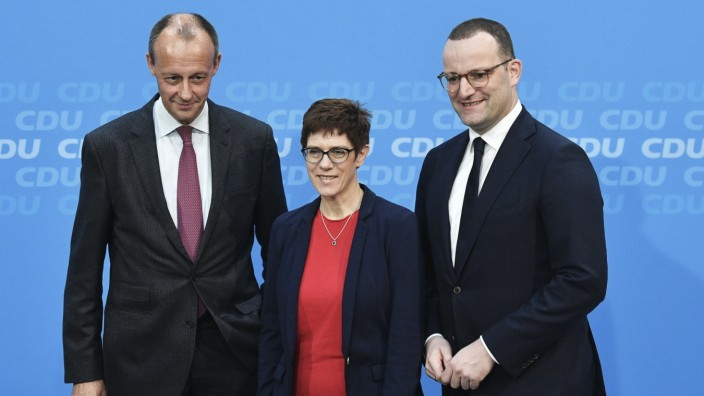 Merz AKK Spahn CDU