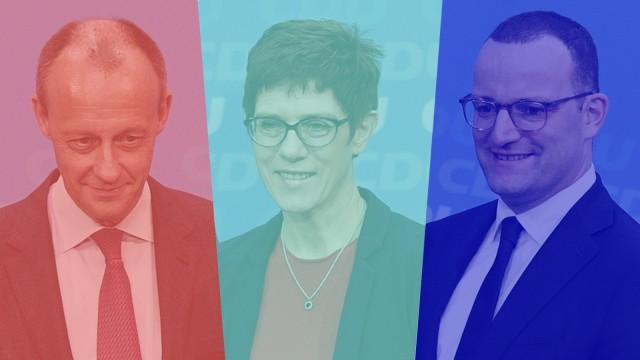 Politik CDU CDU-Vorsitz