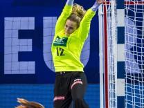 Handball Frauen EM Deutschland Tschechien Vorrunde Gruppe D 3 Spieltag in der Brest Arena Tor
