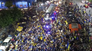 *** BESTPIX *** Fans Bid Farewell to Boca Juniors