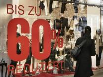 Winterschlussverkauf in München, 2007
