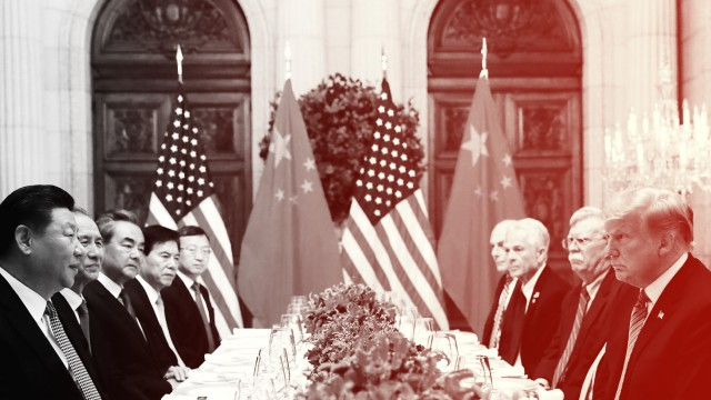 Xi Jinping und Donald Trump nach dem G-20-Gipfel