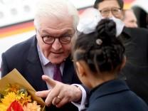 Bundespräsident Steinmeier in China