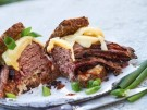 reuben sandwich mit pastrami