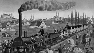 Brauchtum und Geschichte Anfänge der Eisenbahn