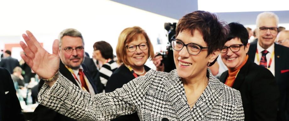 Kramp-Karrenbauer CDU Vorsitzende