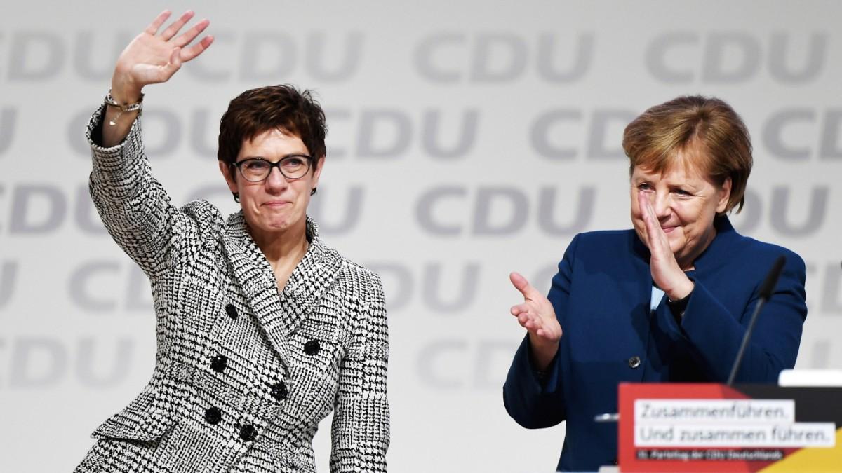 CDU-Parteitag en vivo - Kramp-Karrenbauer gewinnt Wahl - Politik