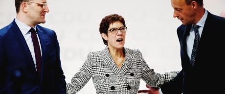 Politik CDU CDU-Chefin Annegret Kramp-Karrenbauer