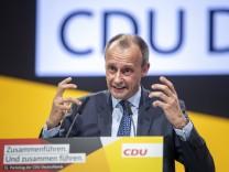 CDU Holds Federal Party Congress To Elect Successor To Angela Merkel