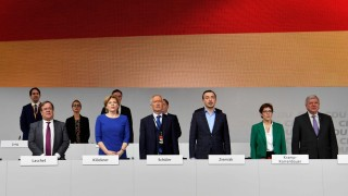 Politik CDU Parteitag in Hamburg