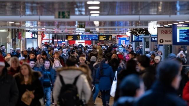 Warnstreiks Deutsche Bahn