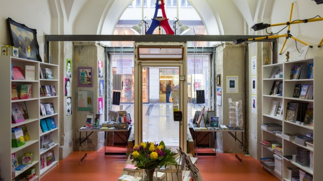 Rathaus Buchladen Pop-Up Münchner Buchmacher