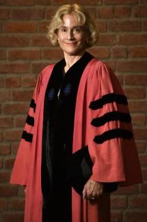 Verleihung der Ehrendoktortitel an der Universität Hasselt Martha Nussbaum pictured before a ceremon