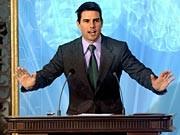 Tom Cruise bei der Einweihung der spanischen Scientology-Zentrale