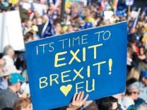 Chance für britischen Brexit-Rückzieher