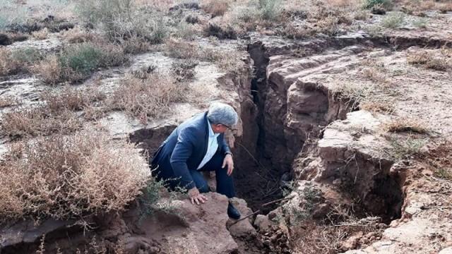 Geowissenschaften Teheran versinkt
