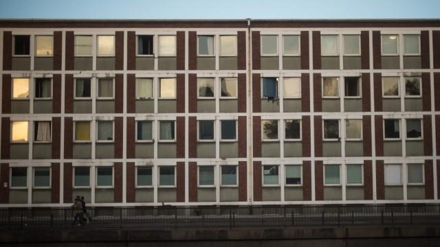 Flüchtlingsheim in Köln