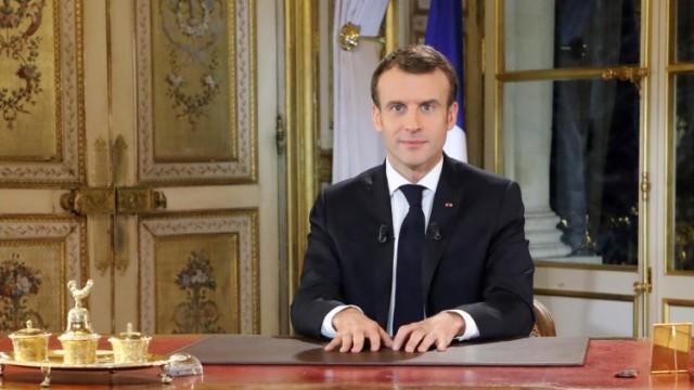 Macron Gelbwesten Frankreich