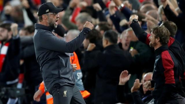 FILE PHOTO: Champions League - Group Stage - Group C - Liverpool v Paris St Germain
