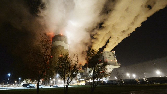Braunkohlekraftwerk in Belchatow
