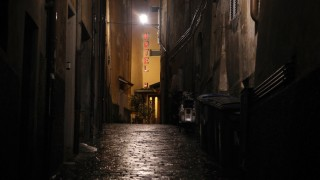 General Views of the Medieval Italian Town of Perugia