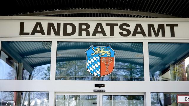 Eingang Landratsamt Bad Tölz