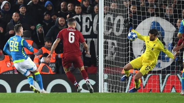 Champions League Liverpool im Champions-League-Achtelfinale