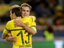 BVB-Spieler Mario Götze und Raphael Guerreiro