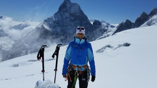 Bergführerin Gudrun Weikert