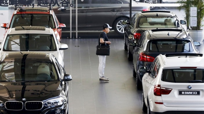 BMW-Autohaus in China