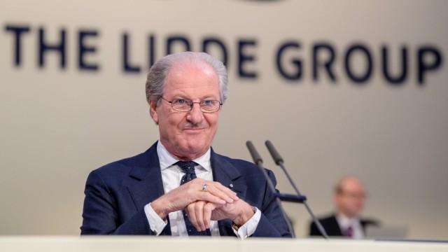 Letzte Hauptversammlung der Linde AG