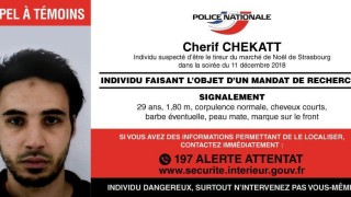 French Police post call for witnesses for Strasbourg-bon Cherif Chekatt the day after a gun attack in Strasbourg
