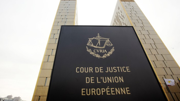 Europäischer Gerichtshof in Luxemburg