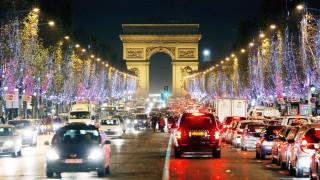 Autoverkehr in Paris