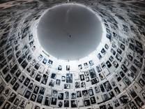 Die Holocaust-Gedenkstätte Yad Vashem in Jerusalem..