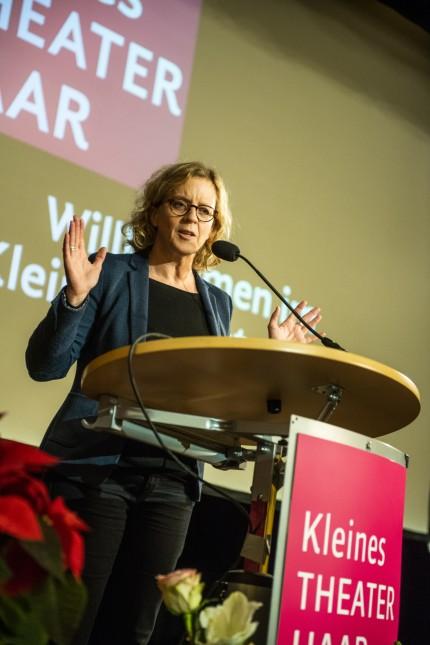 Haar, Kleines Theater, SPD verabschiedet Peter Paul Gantzer,