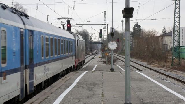 Umbau Am Freisinger Bahnhof Bahnsteige Werden Verkürzt Freising