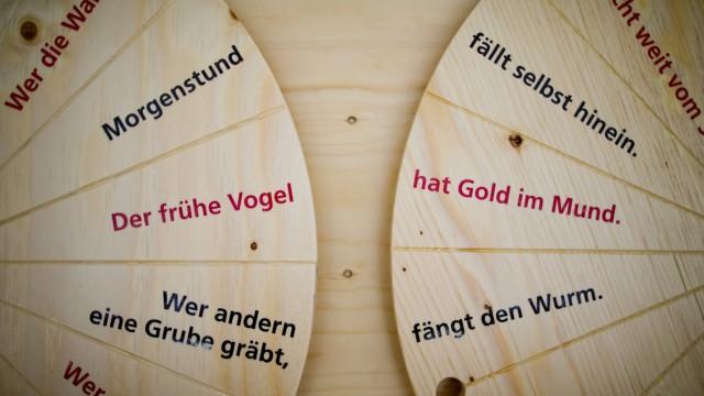 Neue Heimat Sprache Redensarten und Sprichwörter