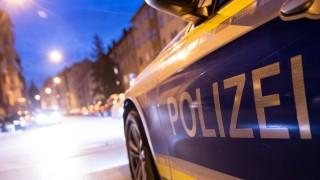 Polizeiauto im Nürnberger Stadtteil St. Johannis