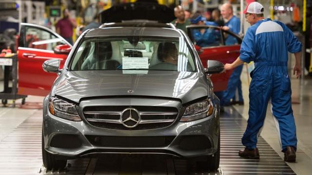Daimler-Fabrik in Alabama, USA