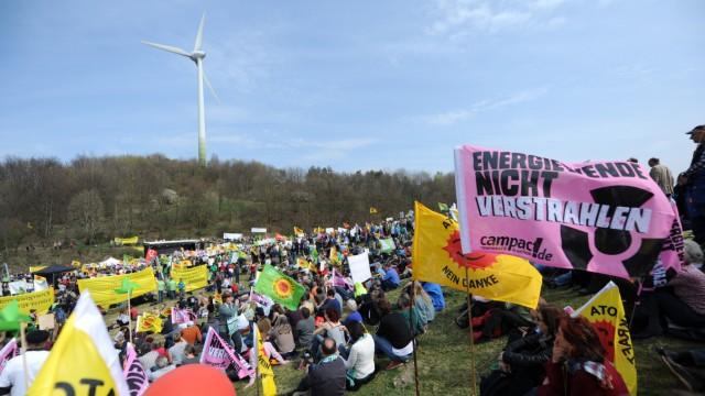 Demonstration für Energiewende in München, 2014